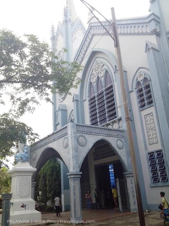 Puerto Princesa Cathedral's facade