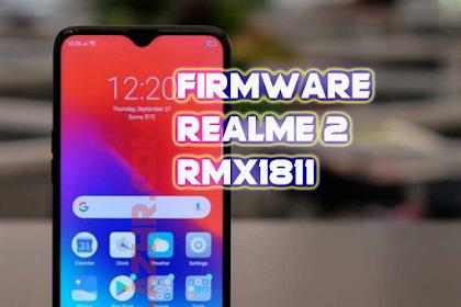Firmware Realme 2 | RMX1811 | Snapdragon 450