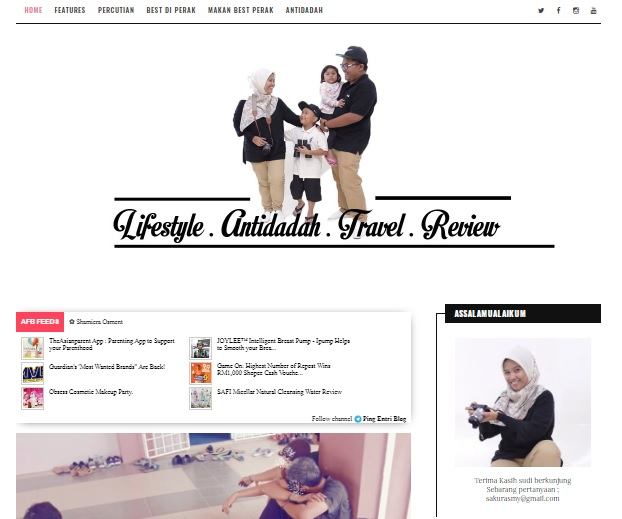 Makeover Blog Menggunakan Gambar Hasil Sesi Bergambar Di Razin Zain Expert Studio Seri Iskandar