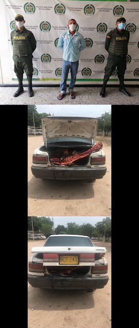 Le encontraron 800 kilos de carne de dos reses robadas