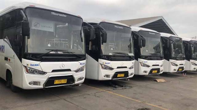 Harga Tiket Bus Damri Arus Balik (Mudik) Lebaran 2020