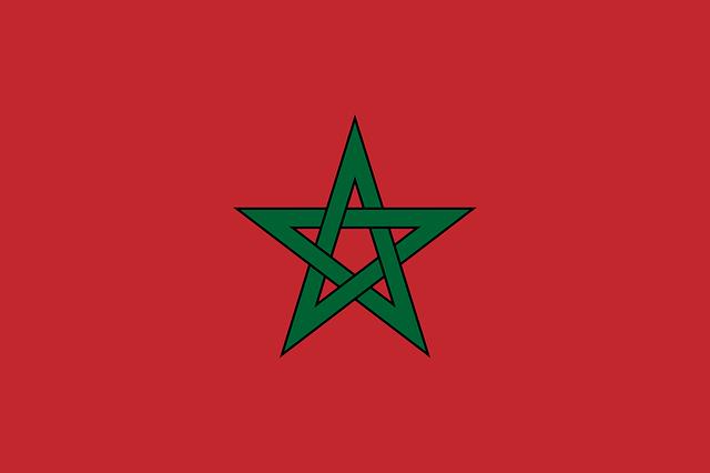 Bendera Negara Maroko