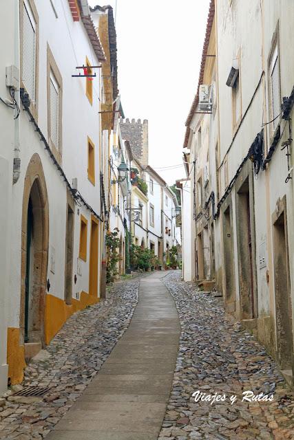 Calle de Santa Maria de Cima de Castelo de Vide