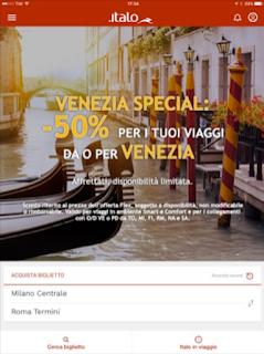 L'app Italo Treno si aggiorna alla vers 3.5.1