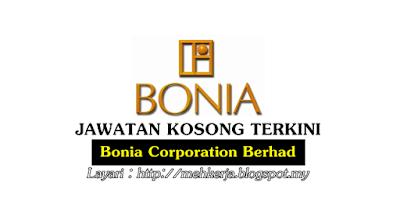 Jawatan Kosong di Bonia Corporation Berhad