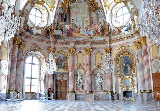 Residenz Wurzbura, Kaisersaal_psartworks.in