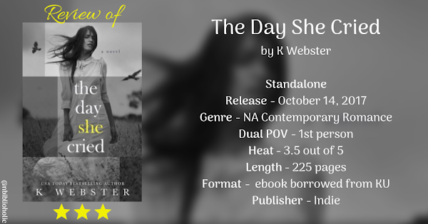 THE DAY SHE CRIED by K Webster