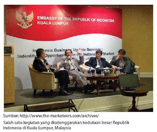 Tugas dan Fungsi Perwakilan Diplomatik Republik Indonesia