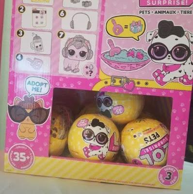 Коробка с шарами Лол Сюрприз домашние животные волна 2 серия 3