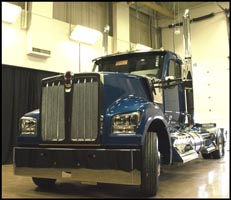 First Production Kenworth W990