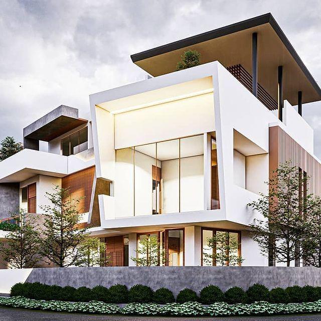 desain rumah american classic minimalis
