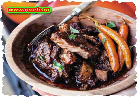 Beef short rib potjie