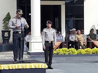 Kapolres Sorong Pimpin Apel Gelar Pasukan Dalam Rangka Operasi Ketupat 2019