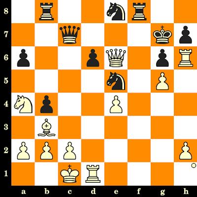Les Blancs jouent et matent en 3 coups - Jean-Marc Degraeve vs Christian Lecuyer, France, 1988