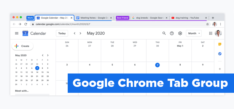 Google Tab Group