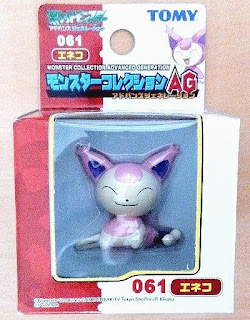 Skitty Pokemon figure Tomy Monster Collection AG series