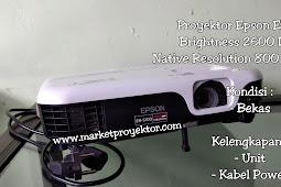 Proyektor Epson EB-S100 (Second)