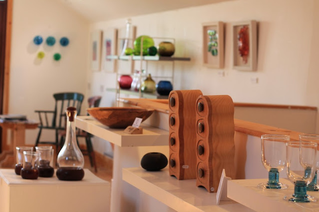 Upstairs Gallery at Jerpoint Glass