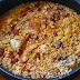 Cazuela de arroz a la riojana, una receta de 10