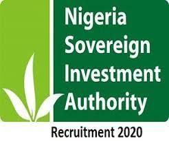 Nigeria Sovereign Investment Authority Recruitment NSIA 2020