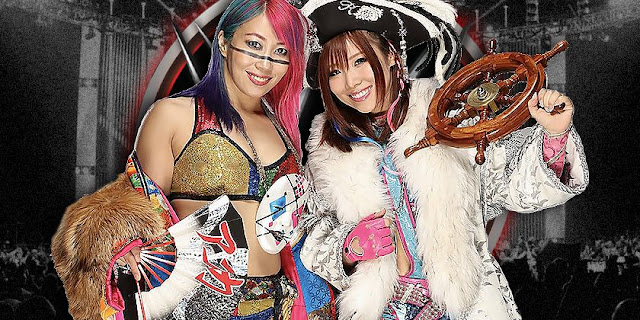 The Kabuki Warriors Win The WWE Women's Tag Team Titles