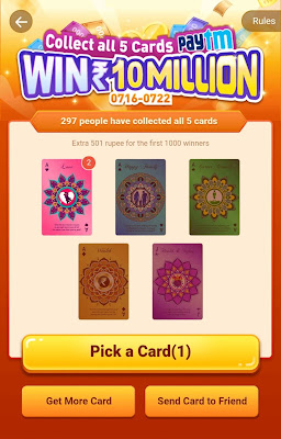Playit pick a card