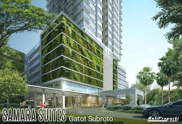 apartemen samara suites gatsu jakarta selatan