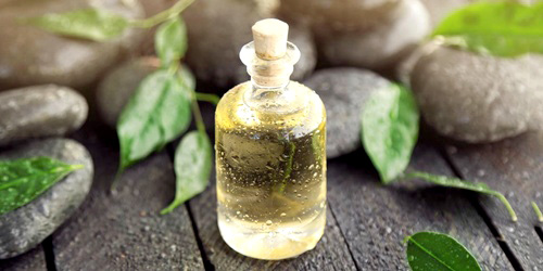 aceite esencial natural de arbol de te