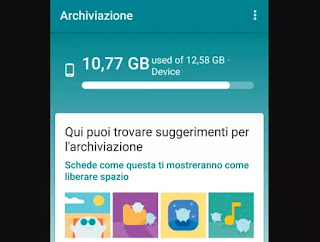 android gestione file google
