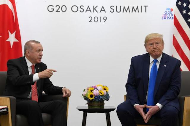 Στον «αέρα» η συνάντηση Τραμπ - Ερντογάν