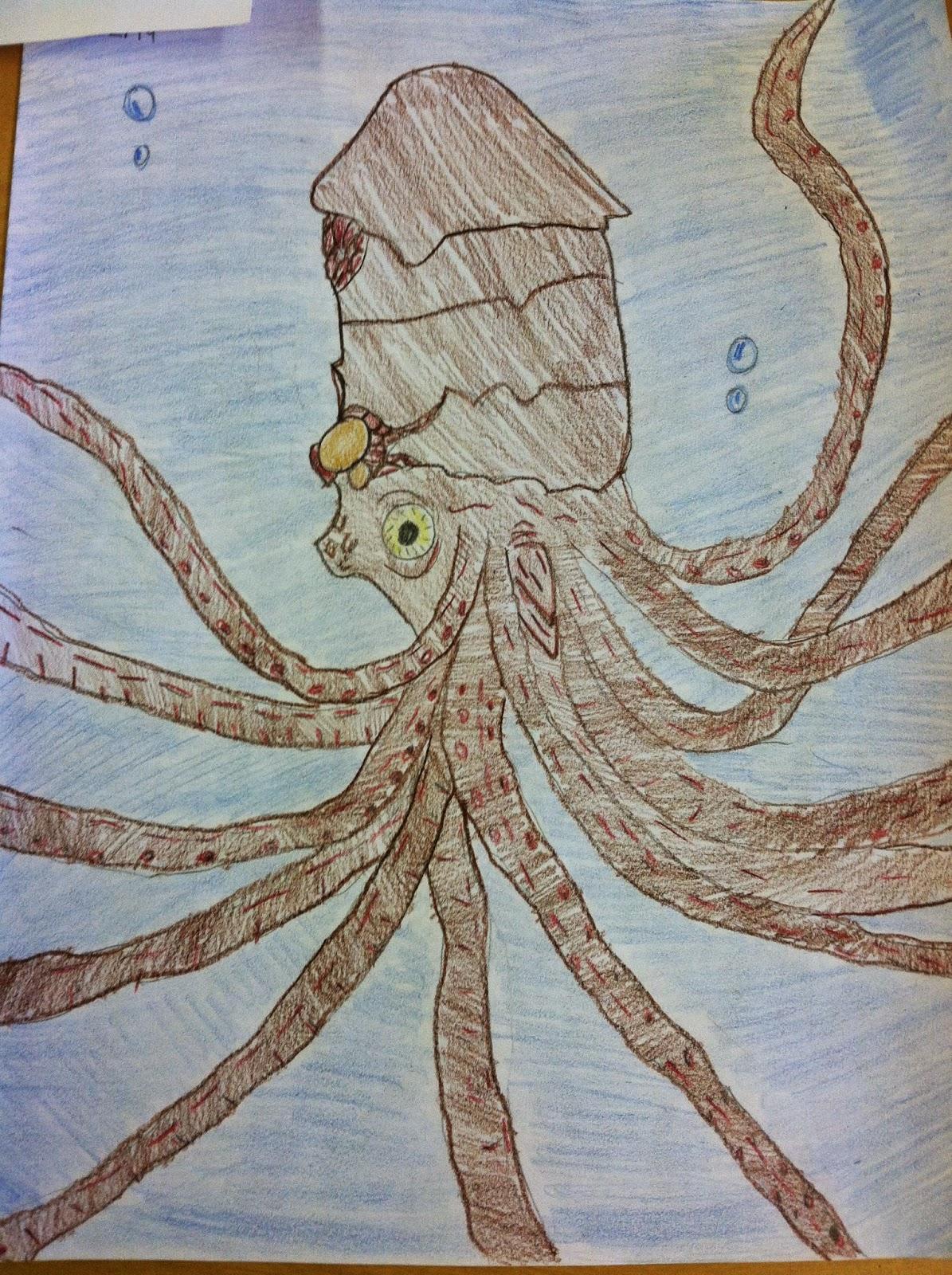 charlotte mason in santa monica the kraken i chose tennyson as the first poet my 4th grade class will be studying last week we break break break this week i chose the kraken
