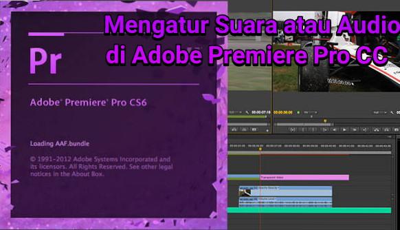 Cara Mengatur Suara atau Audio di Adobe Premiere Pro CC