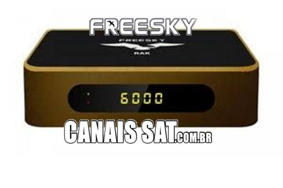 Freesky RAK Atualização Beta V2848 - 11/06/2021