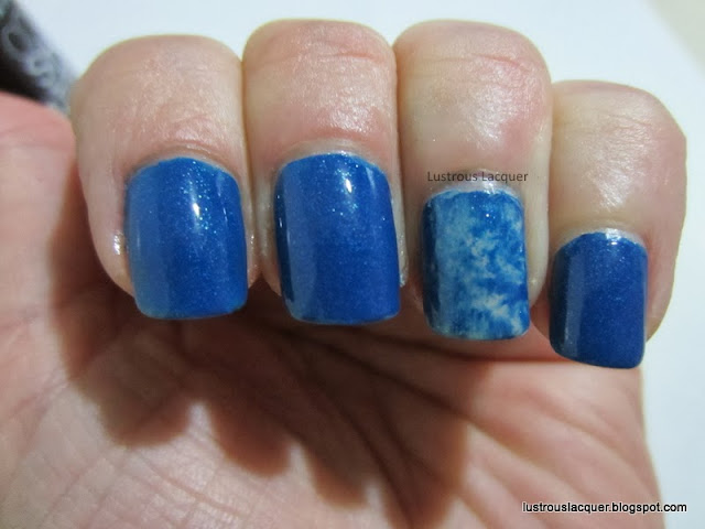 Maybelline Color Shoe Denim Dash, Blue, Seran Wrap Manicure