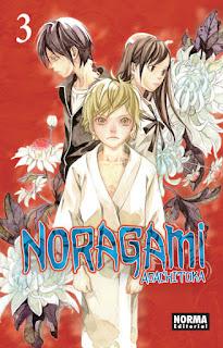 NORAGAMI 3  Manga de Adachitoka reseña de Noragami 3 desde Norma Editorial