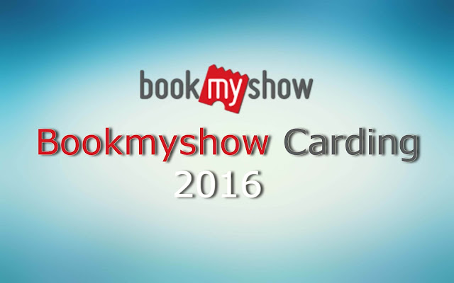 Bookmyshow carding method