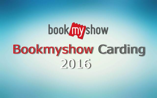 Bookmyshow carding method