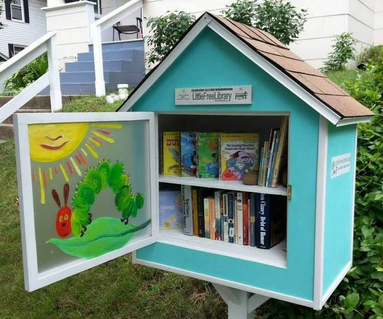 Todd Bol, the founder of the Little Free Library movement,