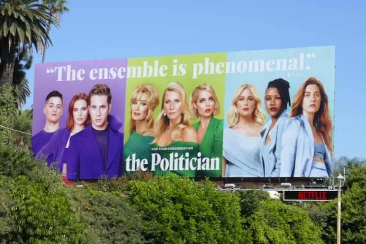 Politician 2019 consideration billboard