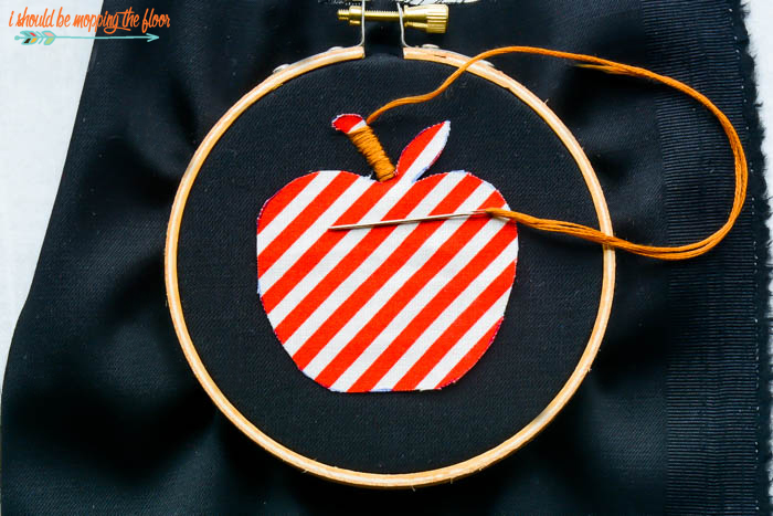 Stitching Apples