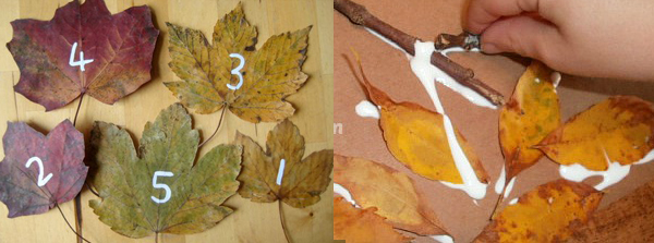Math with Fall Leaves
