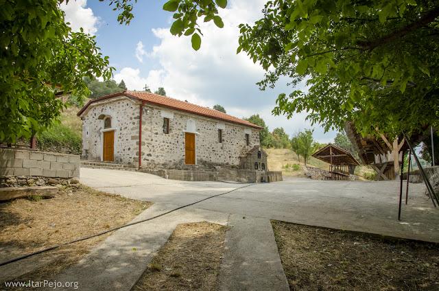 """St. Elijah monastery """"Bren"""" near village Gradeshnica, Mariovo"""