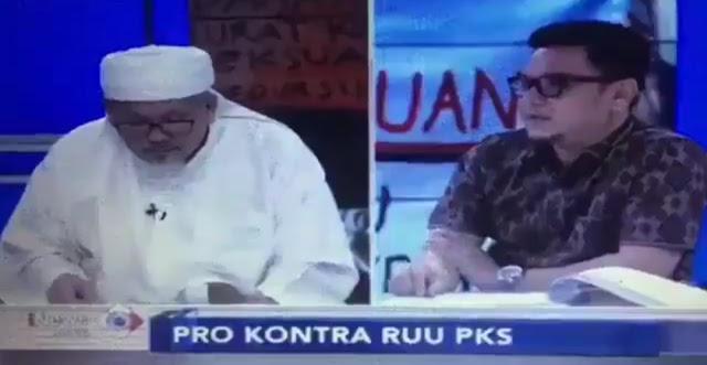Detik-detik Tengku Zulkarnain 'Dibantai' Ace Hasan Syadzili Soal RUU PKS