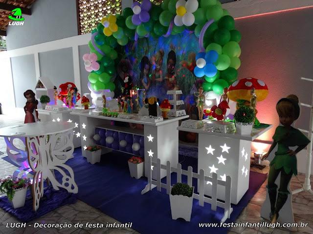 Decoração infantil Tinker Bell - Aniversário - Provençal luxo