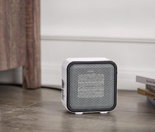 500-Watt Ceramic Small Space Personal Mini Heater