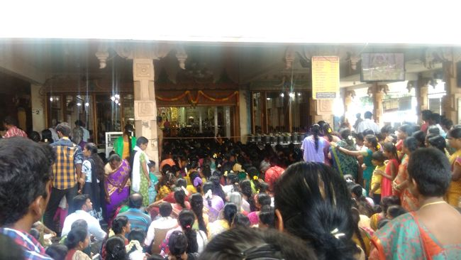 Devotees Throng At Sri Naga Sai Mandir