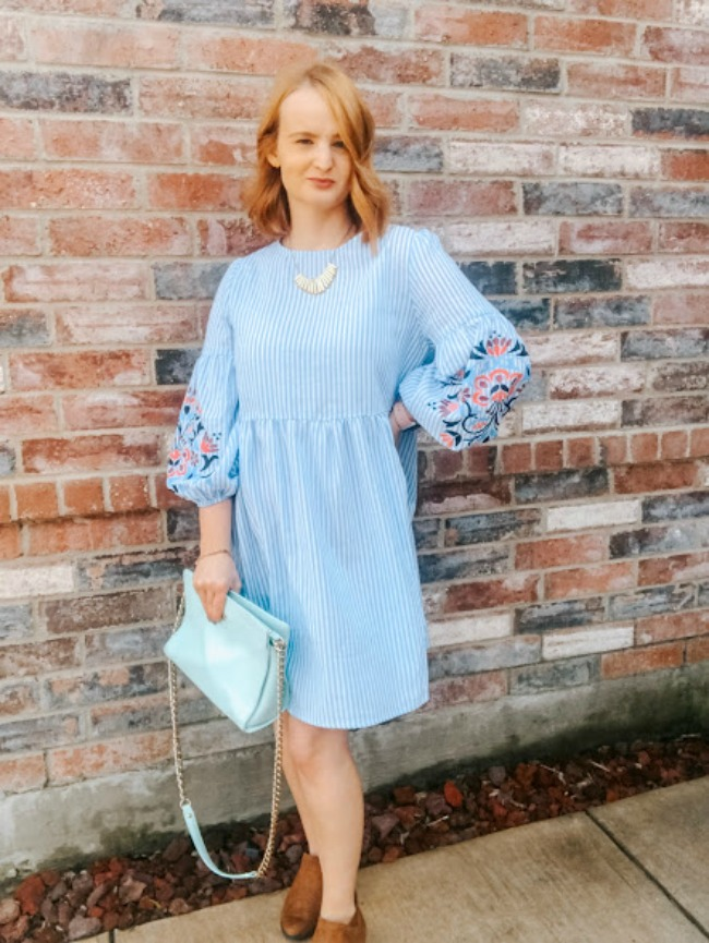 Babydoll Dress Outfit | Spring Style