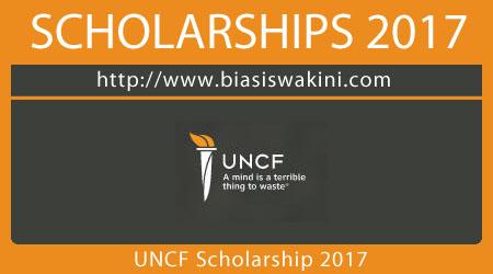 UNCF Scholarship 2017