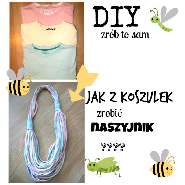 DIY - Naszyjnik z koszulek