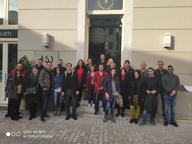 Τουριστικές επιχειρήσεις στο Ναύπλιο επισκέφθηκαν οι σπουδαστές της Τουριστικής Σχολής Άργους